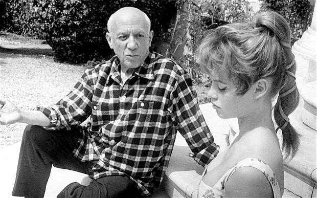 Pablo Picasso_ Brigitte Bardot