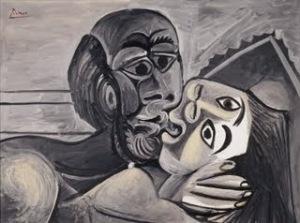 El Beso (1969). Picasso