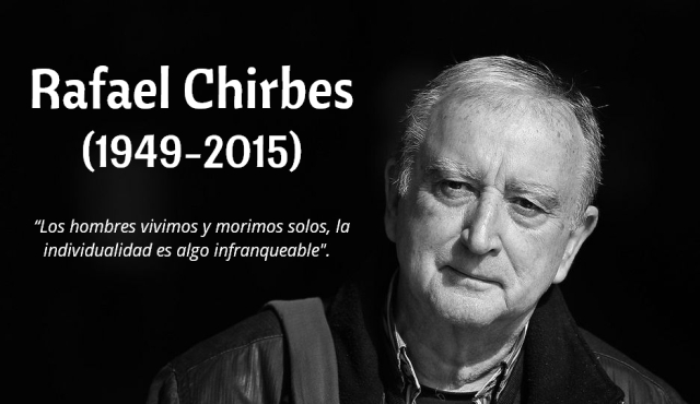 Rafael Chirbes_In Memoriam