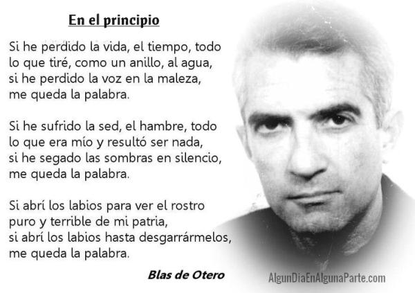 Blas de Otero_En el Principio
